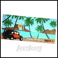 Rugged Ridge Beach Towel 30 X 60 14230.01