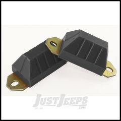 Rugged Ridge Axle Snubber Kit Black 76-86 Jeep CJ5 CJ7 and CJ8 1-1301BL