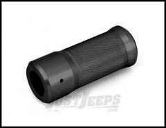 Rugged Ridge Billet Aluminum E-Brake Handle Cover In Black For 2007-10 Jeep Wrangler & Wrangler Unlimited JK 11422.04