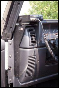 Rugged Ridge CB Radio Dash Mount For 1997-06 Jeep Wrangler TJ & Unlimited 13551.09