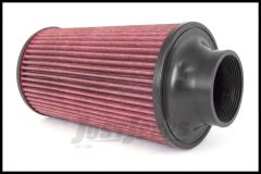 Rugged Ridge Conical Air Filter 77mm x 270mm For Universal Applications 17753.01