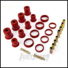 Rugged Ridge Control Arm Bushing Kit Front Red For 1993-98 Jeep Grand Cherokee ZJ 1-203