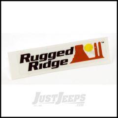 """Rugged Ridge Decal 4"""" X 1"""" 12580.02"""