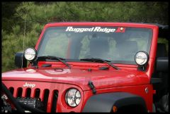 "Rugged Ridge Decal Windshield Banner 30"" X 3"" 12580.01"