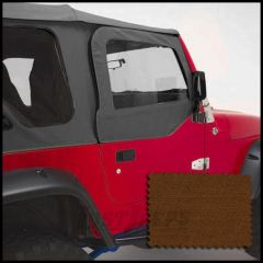 Rugged Ridge Door Skins Dark Tan For 1997-06 Jeep Wrangler TJ & Unlimited Models 13717.33