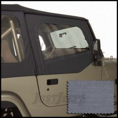 Rugged Ridge Door Skins Grey For 1988-95 Jeep Wrangley YJ With Half Steel Doors 13716.09
