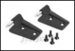 Rugged Ridge Driver Side Door Hinge Set in Black Powder Coat For 2007-18 Jeep Wrangler JK 2 Door & Unlimited 4 Door Models 11202.23