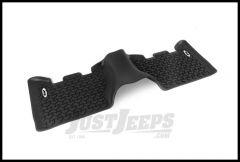 Rugged Ridge Floor Liner Rear Black With Jeep Logo For 1993-98 Jeep Grand Cherokee ZJ DMC-12950.24