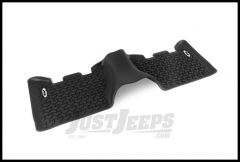 Rugged Ridge Floor Liner Rear Black With Jeep Logo For 1999-04 Jeep Grand Cherokee WJ DMC-12950.28