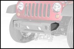 Rugged Ridge Front Bumper Stubby End Caps In Steel For 2007-18 Jeep Wrangler JK 2 Door & Unlimited 4 Door Models 11542.23