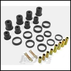 Rugged Ridge Front Control Arm Bushing Kit Black For 1984-01 Jeep Cherokee XJ 1-202BL