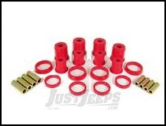 Rugged Ridge Front Control Arm Bushing Kit Red For 1984-01 Jeep Cherokee XJ 18362.01