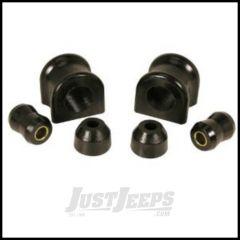 Rugged Ridge Front Swaybar Bushing Kit Black 30.5mm For 1997-06 Jeep Wrangler TJ & Unlimited Models 1-1111BL