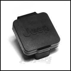 """Rugged Ridge Rear Hitch Cover With Jeep Logo 2"""" Reciever  11580.25"""