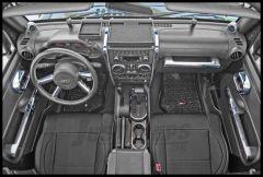 Rugged Ridge Interior Trim Kit In Chrome For 2007-10 Jeep Wrangler JK 2 DoFor With Manual Transmission & Power Windows 11156.90