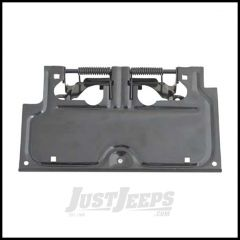 Rugged Ridge License Plate Bracket in Black For 1987-95 Jeep Wrangler YJ 11233.02