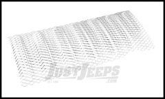 Rugged Ridge Mesh Grille Insert In Stainless Steel For 2007-18 Jeep Wrangler JK 2 Door & Unlimited 4 Door Models 11401.21