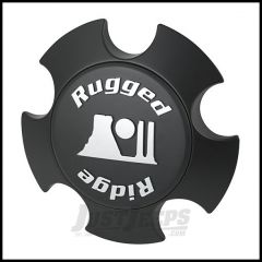 Rugged Ridge Modular Center Cap in Matte Black For Rugged Ridge Aluminum Wheels 15305.51