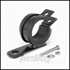 "Rugged Ridge Off Road Light Mounting Bracket Black Fits 1.5"" to 1.75"" Round Tubes For Universal Applications 11503.83"