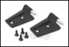 Rugged Ridge Passenger Side Door Hinge Set in Black Powder Coat For 2007-18 Jeep Wrangler JK 2 Door & Unlimited 4 Door Models 11202.22