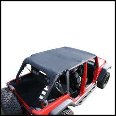 Rugged Ridge Pocket Island Topper In Black Diamond For 2007-09 Jeep Wrangler Unlimited JK 4 Door 13589.35