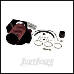 Rugged Ridge Polished Aluminum Air Intake Kit For 2012-18 Jeep Wrangler 2 Door & Unlimited 4 Door Models 17750.07