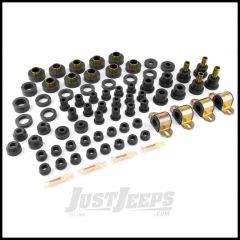 Rugged Ridge Polyurethane Total Jeep Kit Black For 1980-86 Jeep CJ5 & CJ7 1-2003BL
