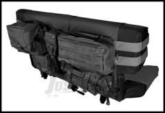 Rugged Ridge Rear Cargo Seat Cover Black For 1976-06 Jeep CJ Series, Wrangler YJ, TJ & Unlimited Models 13246.01