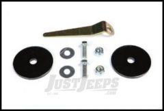 Rugged Ridge Rear Coil Spring Retainer Set For 2007-18 Jeep Wrangler JK 2 Door & Unlimited 4 Door Models 18305.20