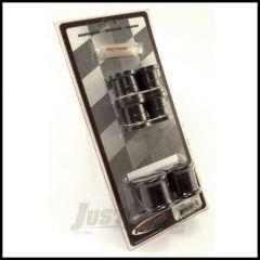 Rugged Ridge Rear Swaybar Bushing Kit Black 13mm For 1997-06 Jeep Wrangler TJ & Unlimited Models 1-1112BL