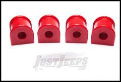 "Rugged Ridge Rear Swaybar Bushing Kit Red 5/8"" For 1984-01 Jeep Cherokee XJ 18367.16"