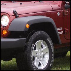 Rugged Ridge Replacement Front Driver Side Flare For 2007-18 Jeep Wrangler JK 2 Door & Unlimited 4 Door Models (Textured Black) 11609.21