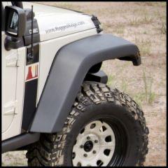 Rugged Ridge Replacement Front Passenger Side Flare For 2007-18 Jeep Wrangler JK 2 Door & Unlimited 4 Door Models (Texture Black) 11609.22
