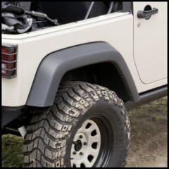 Rugged Ridge Replacement Rear Passenger Side Flare For 2007-18 Jeep Wrangler JK 2 Door & Unlimited 4 Door Models (Texture Black) 11609.24