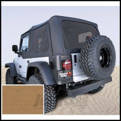 Rugged Ridge Replacement Soft Top Skin Spice Denim With Tinted Windows For 1997-02 Jeep Wrangler TJ 13706.37