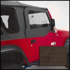 Rugged Ridge Replacement Upper Soft Door Kit Khaki Denim For 1997-06 Jeep Wrangler TJ & TJ Unlimited Models 13714.36