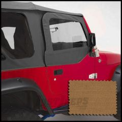 Rugged Ridge Replacement Upper Soft Door Kit Spice For 1997-06 Jeep Wrangler TJ & TJ Unlimited Models 13714.37