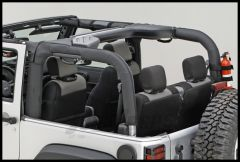 Rugged Ridge Roll Bar Cover in Black For 2007+ Jeep Wrangler JK 2 Door 13613.02