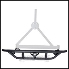 Rugged Ridge RRC Rear Bumper With Tire Carrier Provision For 1987-06 Jeep Wrangler YJ & TJ Models 11503.22