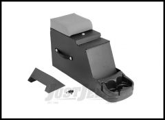 Rugged Ridge Steel Construction Stereo Security Console Grey For 1976-95 Jeep CJ Series & Wrangler YJ 13104.09