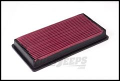 Rugged Ridge Synthetic Panel Air Filter For 1987-95 Jeep Wrangler YJ With 2.5L & 4.0L Engine 17752.03