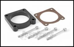 Rugged Ridge Throttle Body Spacer For 2007-11 Jeep Wrangler & Wrangler Unlimited JK With 3.8L Engine 17755.02