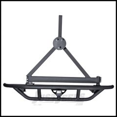 Rugged Ridge Tire Carrier in Black For Rear Bumper With Tire Carrier Provision For 1987-06 Jeep Wrangler YJ & TJ Models (Bumper Sold Seperately) 11503.60