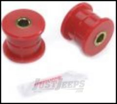 Rugged Ridge Track Arm Bushing Kit Red Front For 1997-06 Jeep Wrangler TJ Models 18368.04