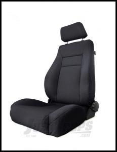Rugged Ridge Ultra Front Seat Reclinable Black Denim For 1984-01 Jeep Cherokee XJ 13446.15