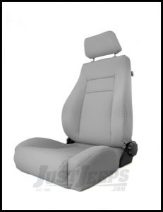 Rugged Ridge Ultra Front Seat Reclinable Grey For 1984-01 Jeep Cherokee XJ 13446.09