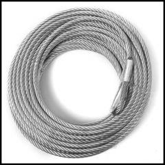 "Rugged Ridge Winch Cable 3/16"" x 50' For Rugged Ridge 2,500lbs Winch Model 15103.51"