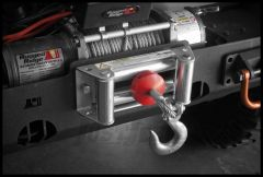 Rugged Ridge Winch Line Stopper In Red For Universal Applications 15102.05