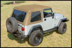 Rugged Ridge XHD Bowless Soft Top With Door Surrounds in Spice For 1997-06 Jeep Wrangler TJ 13751.37