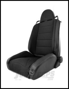 Rugged Ridge XHD Off Road Seat In Black Cloth & Black Vinyl For 1997-06 Jeep Wrangler TJ & TJ Unlimited Models 13416.15